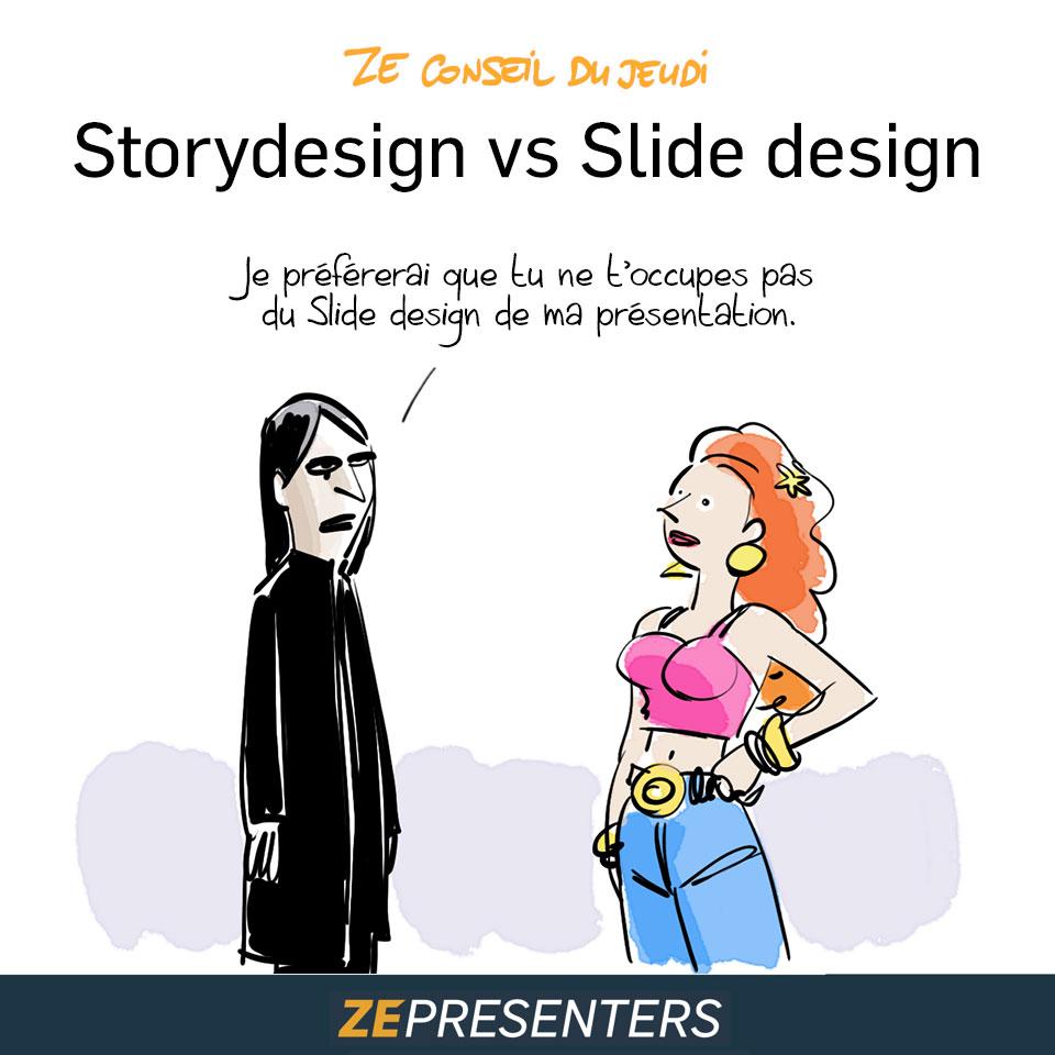 storydesign vs slidedesign