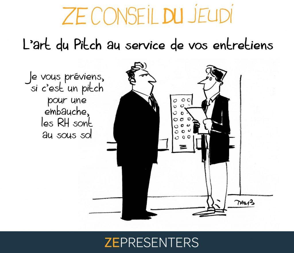 L Art Du Pitch Au Service De Vos Entretiens Hubstory