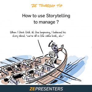 How to use Storytelling to manage?