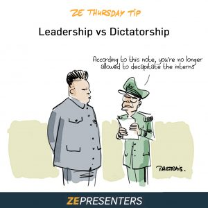 Leadership vs Dictatorship
