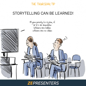 STORYTELLING CAN BE LEARNED!