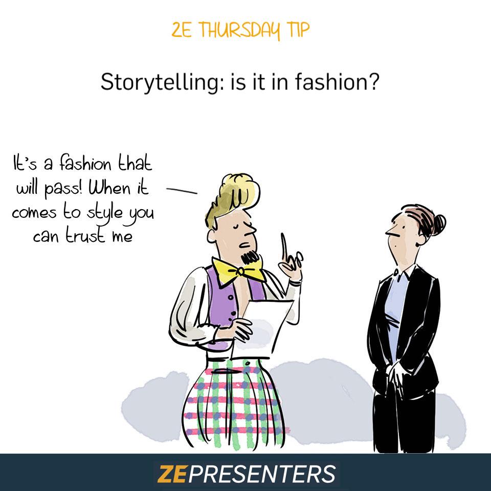 STORYTELLING IS FASHION ?