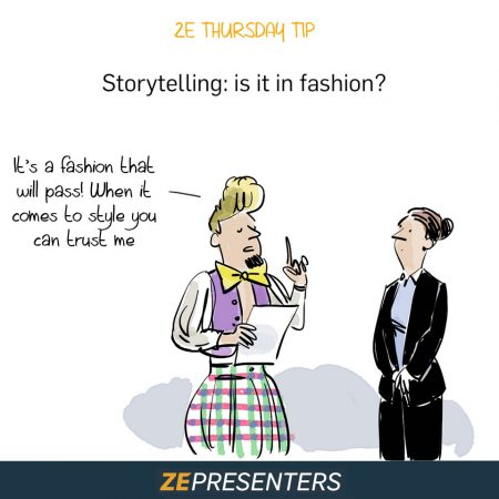 STORYTELLING IS FASHION ?